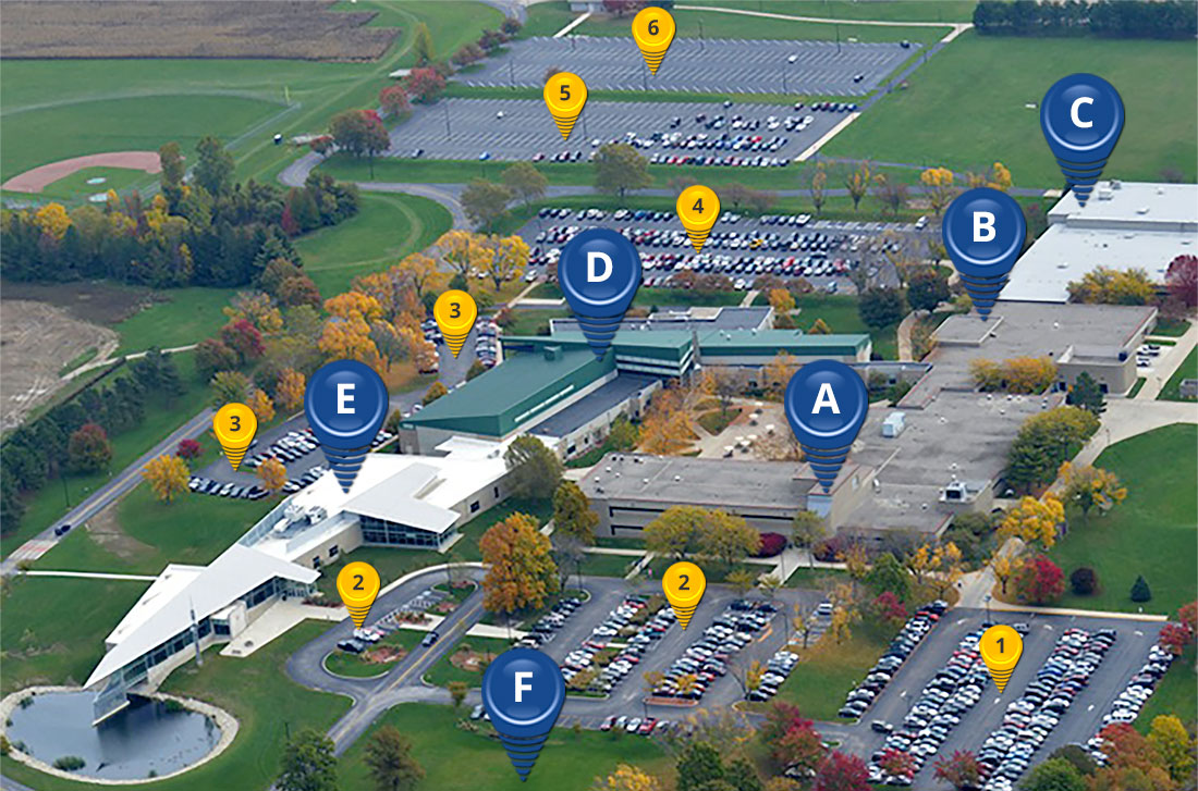 Piqua Facilities Aerial
