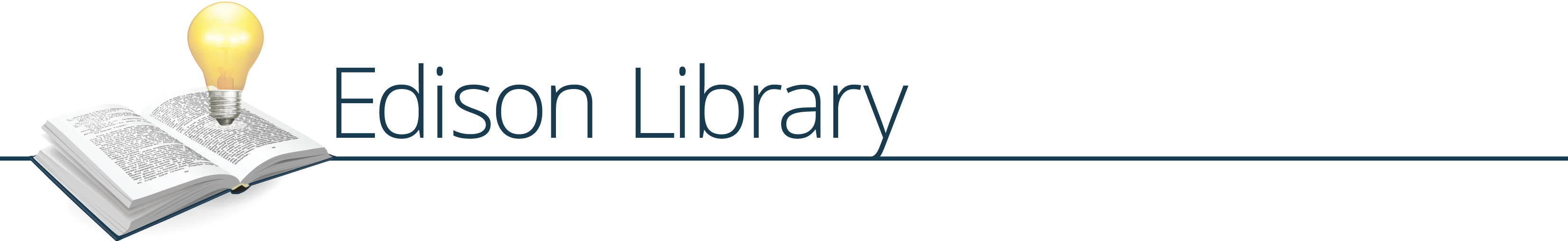 Library Graphic Title