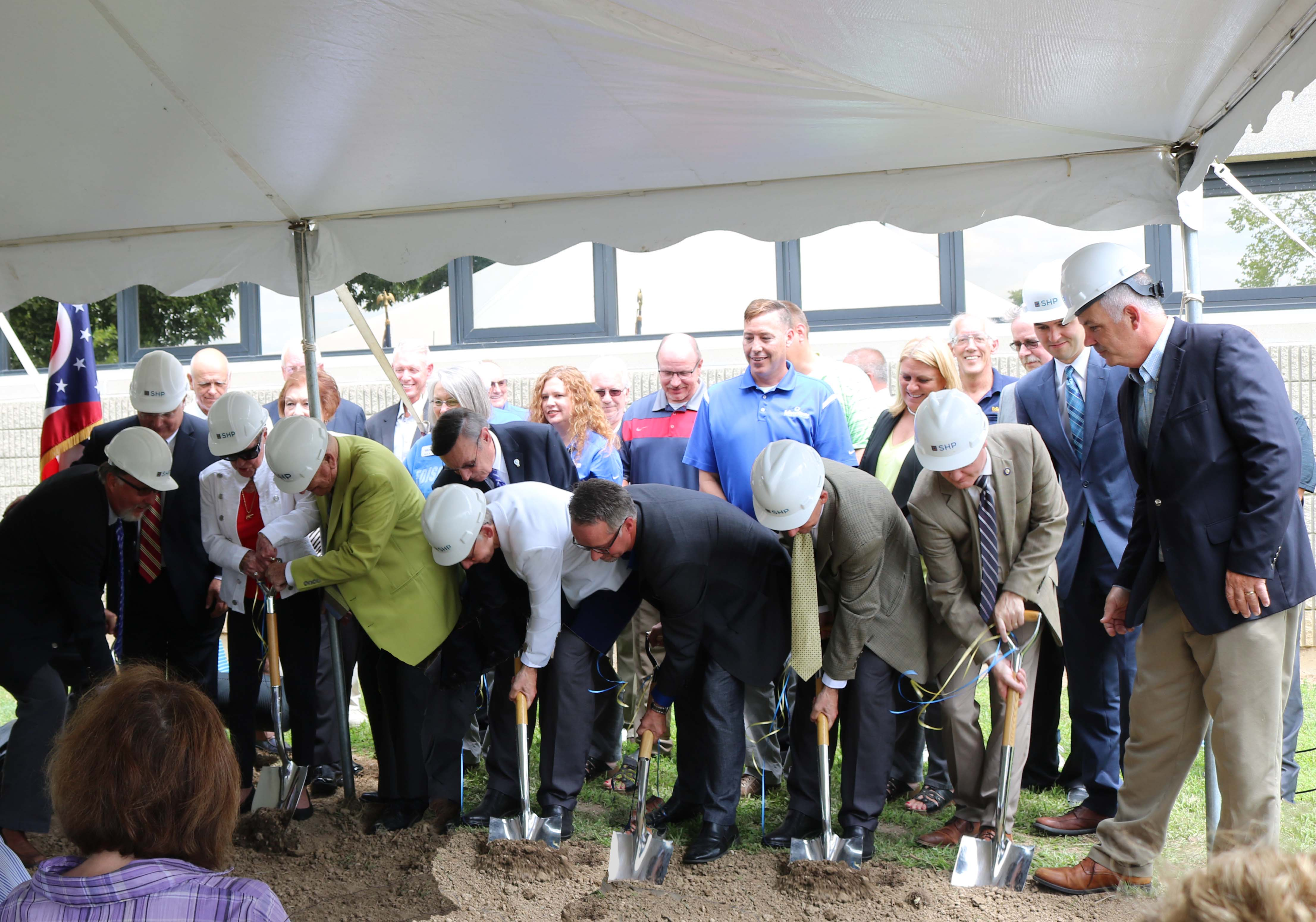 Robinson Student Career Center Ground Breaking Ceremony